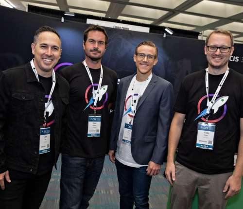 LunarCRUSH team LA Blockchain Summit