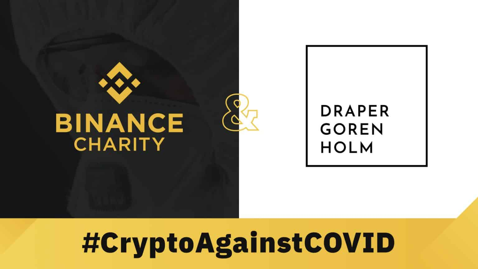 Draper Goren Holm and Binance Charity Foundation