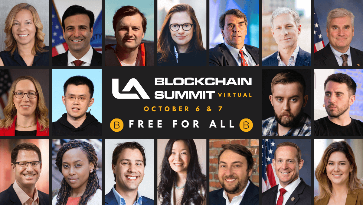 The SEC, CFTC, OCC, and Thousands More Flock Online to LA Blockchain Summit October 6 & 7 For Largest Gathering of Disrupters in Blockchain