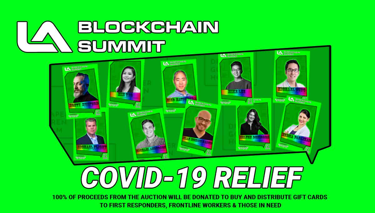 LA Blockchain Summit Launches COVID-19 Relief NFT Auction with Giveback Heroes on OpenSea